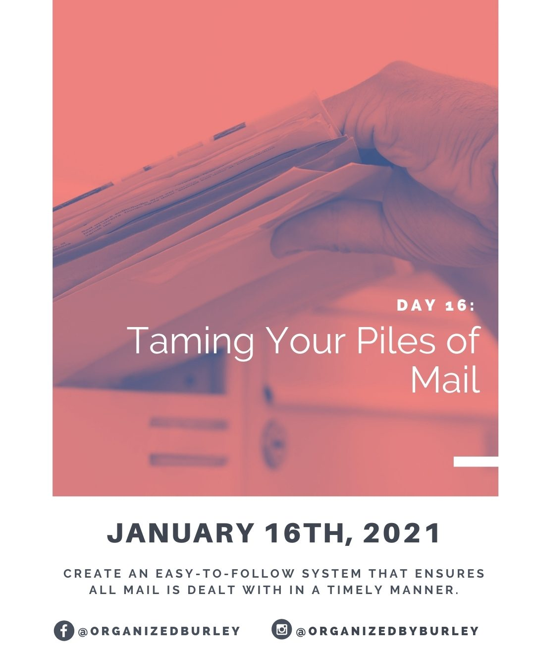 Organize your paper mail