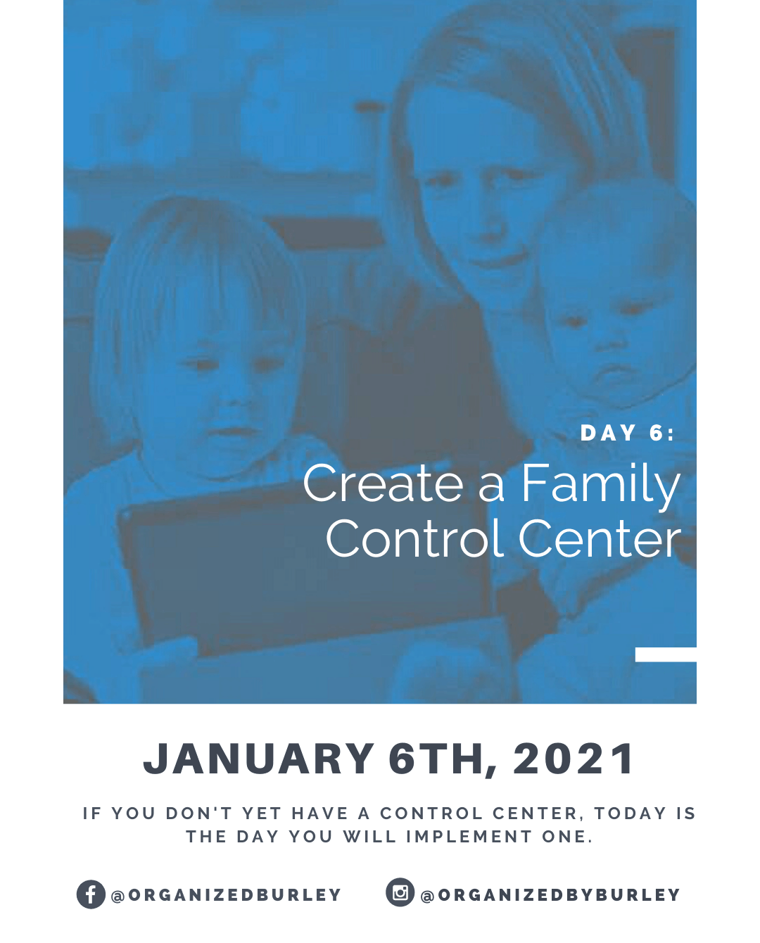 How to Create you family control center